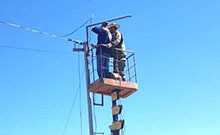 Սուբվենցիոն ծրագրով Փարաքարում մեկնարկել են նաև  փողոցների արտաքին լուսավորության ցանցի  ընդլայնման աշխատանքները