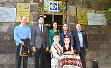 Մարզպետ Համբարձում Մաթևոսյանն այցելել է «Բարձունք 5165» ֆրանսահայ բարեգործական ՀԿ