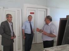 Մարզպետ Աշոտ Ղահրամանյանն այցելեց Նալբանդյան համայնքի միջնակարգ դպրոց