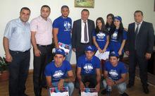 Մարզպետն ընդունեց <<Բազե 2015>> համահայկական երիտասարդական հավաքի Արմավիրի մասնակիցներին