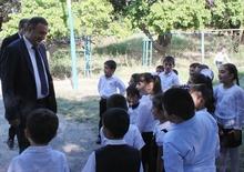 Մարզպետ Աշոտ Ղահրամանյանն այցելեց Նալբանդյանի և Նոր Արմավիրի միջնակարգ դպրոցներ